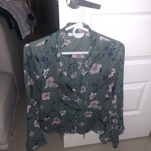 Tops - Flower blouse